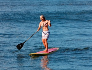 SUP Women Water Warriors of Maui Came to N Kihei and Conquered the Waves with One Paddle One Board Mission Accomplished!