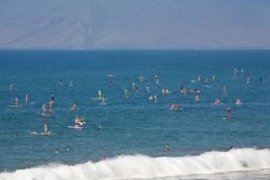 Maui's Women's SUP Event HUGE Success Despite Heart Pounding Surf! Check out Video