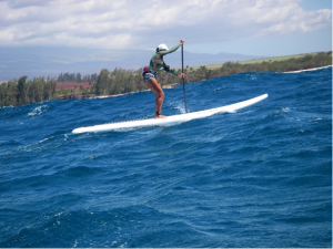The Naish 14 Foot Glide is THE ride for Maui North Shore Down Winders Suzie Cooney