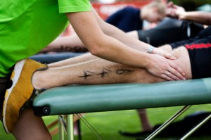 Getting a sports massage can make a  huge difference post event or race!