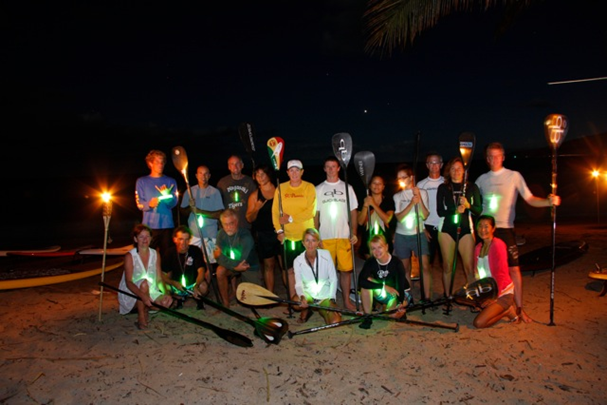 photo by Simone Reddingius  Full Moon Paddle August 24 2010