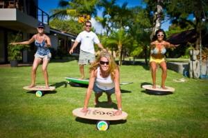 INDO Board Demo Day Zancudo Lodge Costa Rica with Suzie Cooney of Suzie Trains Maui