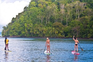 A Four Star Stand Up Paddling Adventure at the Zancudo Lodge in Costa Rica by Suzie Cooney January 2011