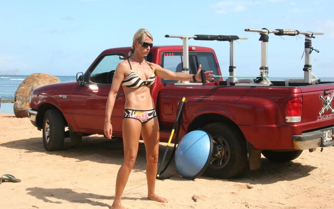 Building Your Dynamic Core For Stronger Stand Up Paddling with Suzie Cooney