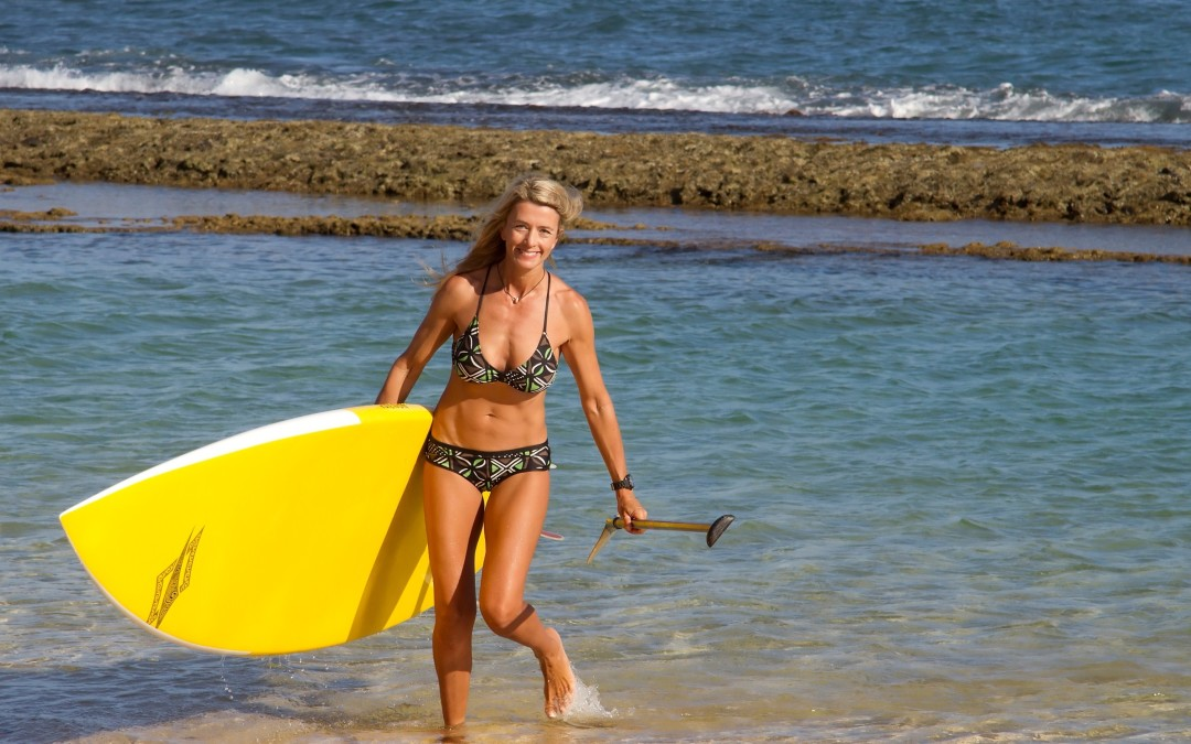 Shred to Shed with Stand Up Paddling Lose Weight Now
