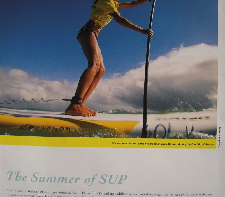 Publisher's Note: Stand Up Paddle Magazine Summer 2011 Suzie Cooney OluKai Race