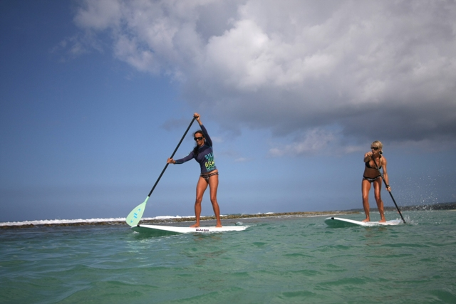 The Health Benefits of Stand Up Paddling Radio Segment with Suzie Cooney