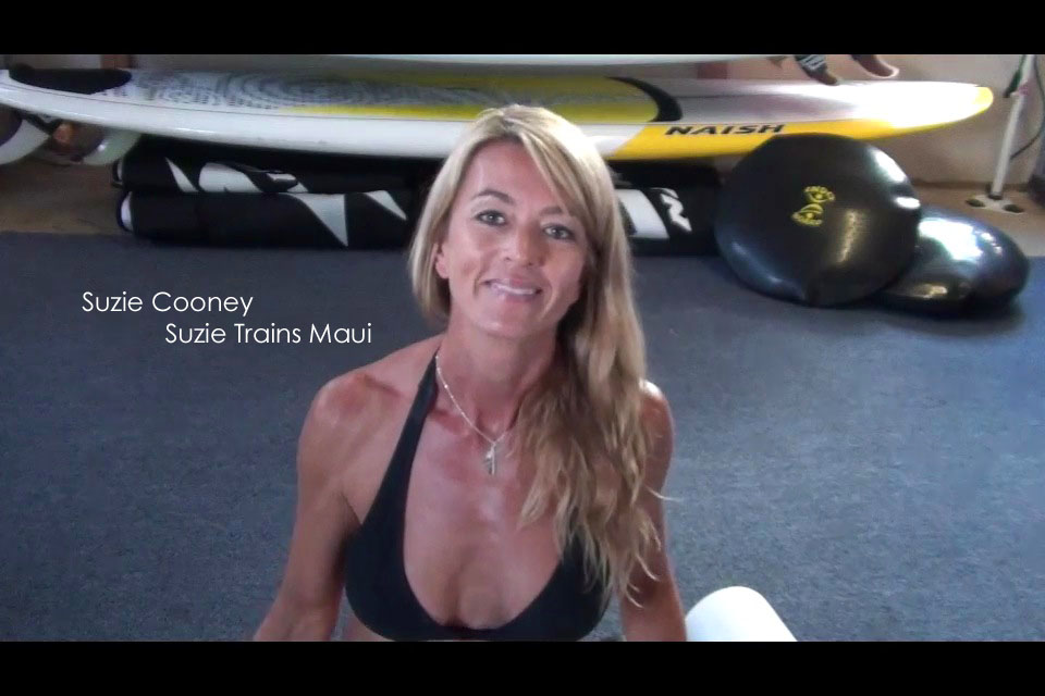 Stand Up Paddling Exercises to Increase Performance and Recovery Video with Suzie Cooney