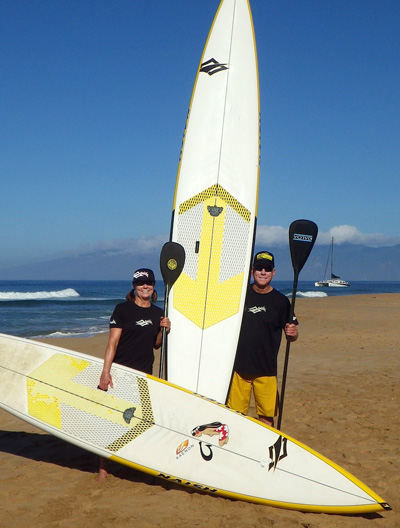 Eddie from Oregon SUP Training Continues To Stroke & Stoke on Maui