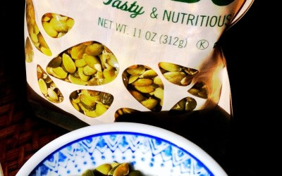 Seasoned Pumpkin Seeds Make A Delicious Salad Topping or Quick Healthy Snack