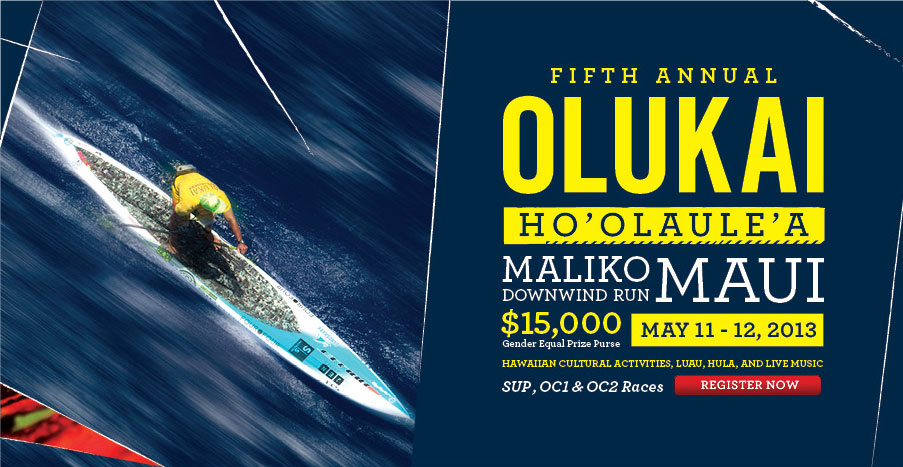 OluKai Premium Footwear Presents The 5th Annual Ho'olaule'a SUP & OC1 Race
