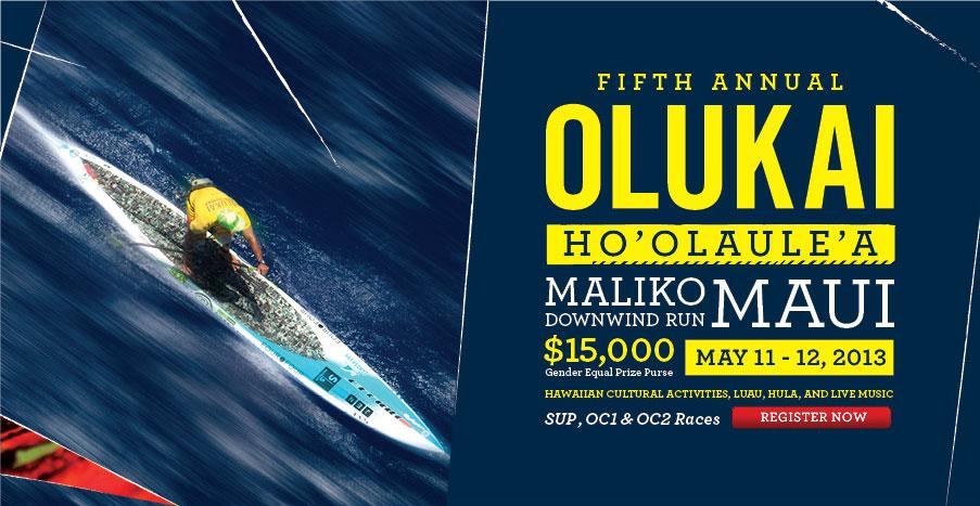 OluKai Premium Footwear Presents The 5th Annual Ho'olaule'a SUP & OC1 Race