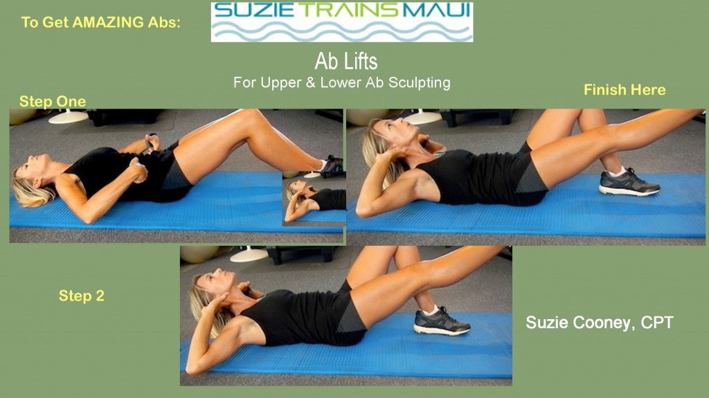 Ab Exercise with Suzie Cooney