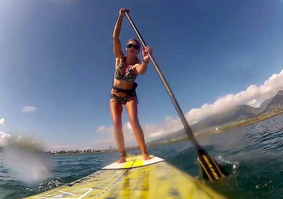 Video Training Tip: How to Increase Your SUP Power Strokes and Balance