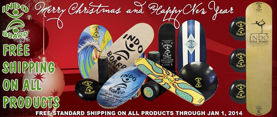 Free shipping thru Jan 1, 2014