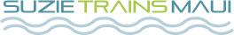 SuzieTrainsMaui Logo