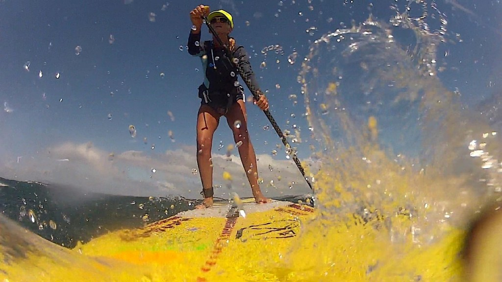 Downwind Stand Up Paddling Requires A Big Heart