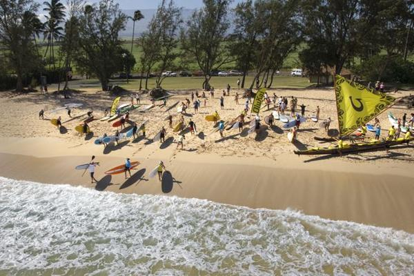 OluKai Ho'olaule'a 2014 Maui Hawaii Fun Paddle
