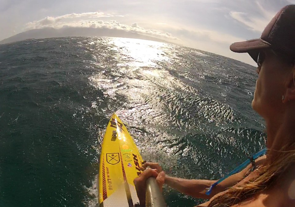 New Video: Maui's Famous Downwind SUP Run Maliko With Suzie Cooney