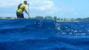 Wayne navigating Maliko downwind run