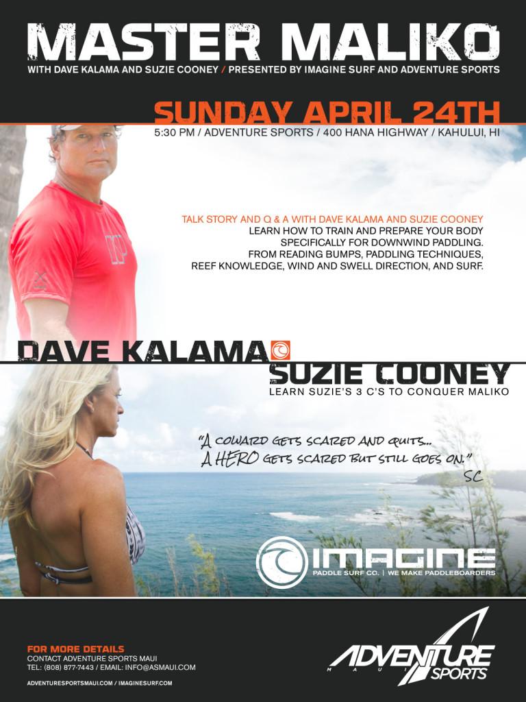 Master Maliko with Dave Kalama & Suzie Cooney