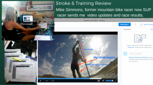 SKYPE SUP Training with Suzie Cooney
