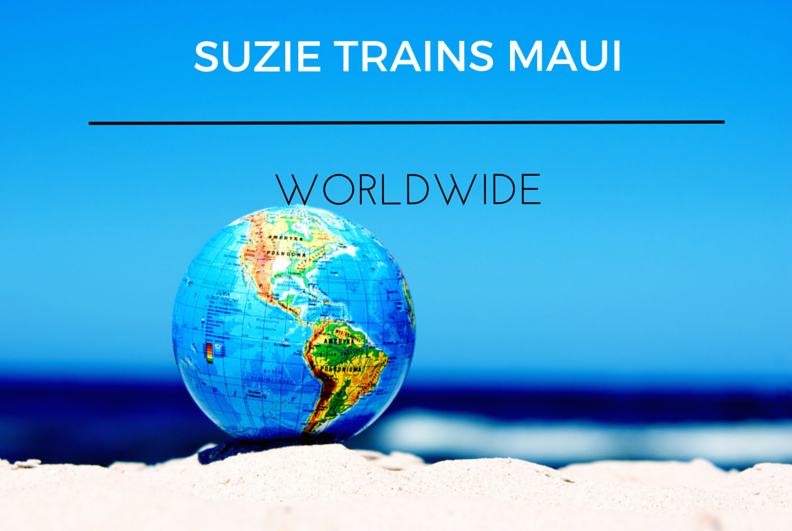 SUZIE TRAINS MAUI sm