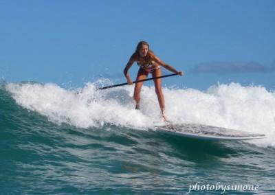 Suzie Cooney SUP for Athleta