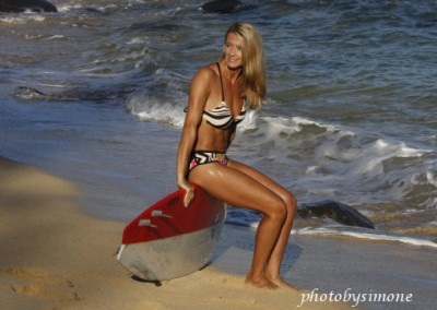 Suzie Cooney Beach Model