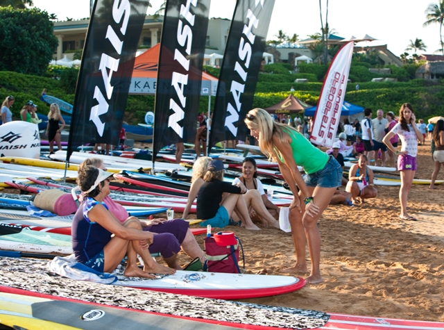 Suzie Cooney SUP Event Host Maui