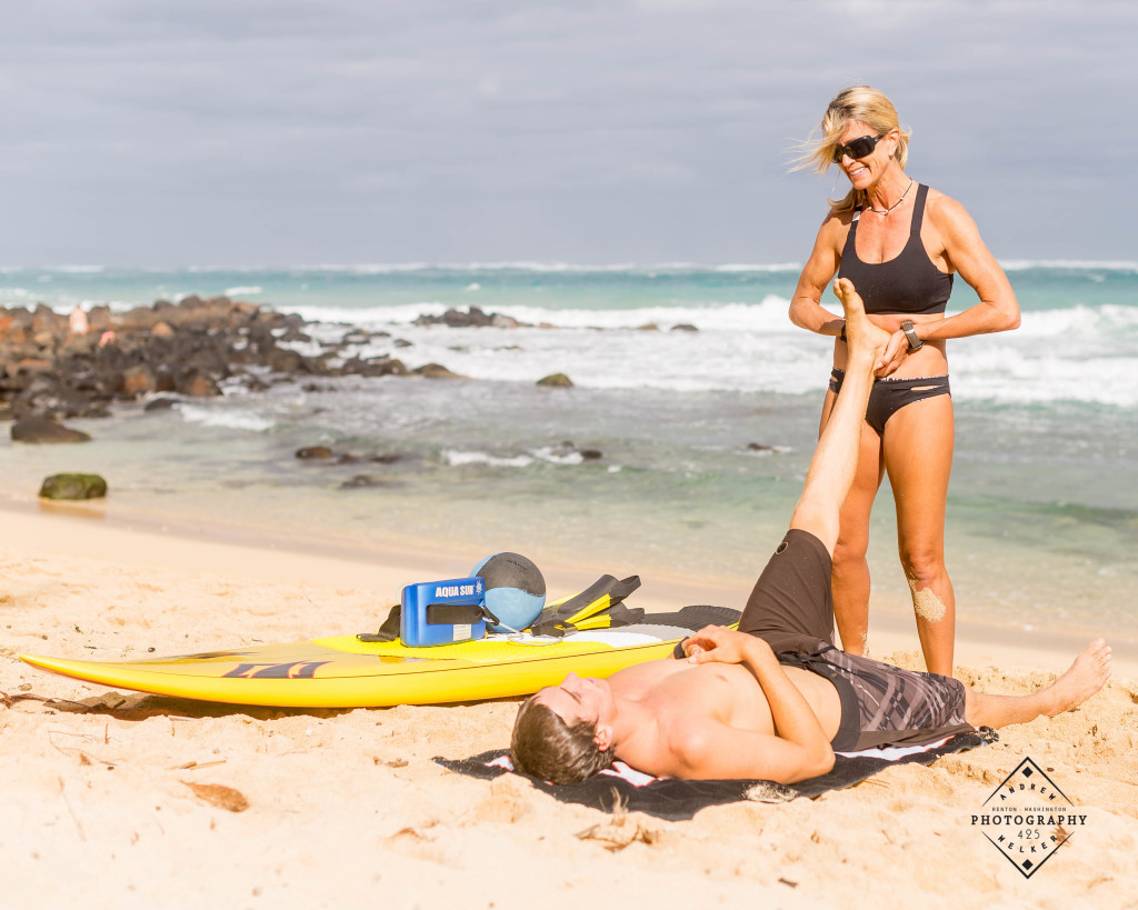 Cool down training with Maui pro SUP and Surfer Kody Kerbox