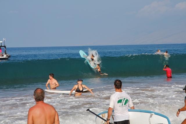 Suzie Cooney SUP Event Four Seasons Maui