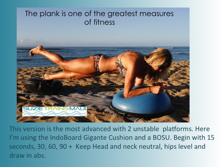 Suzie Cooney Advanced Plank