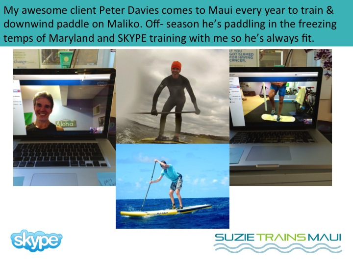 Virtual SKYPE Fitness Training with Suzie Cooney