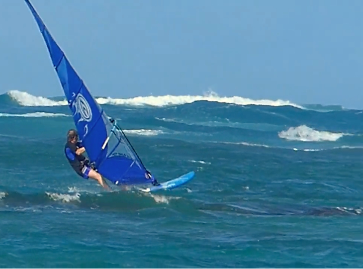 A Cool Total Body Windsurf Training Video
