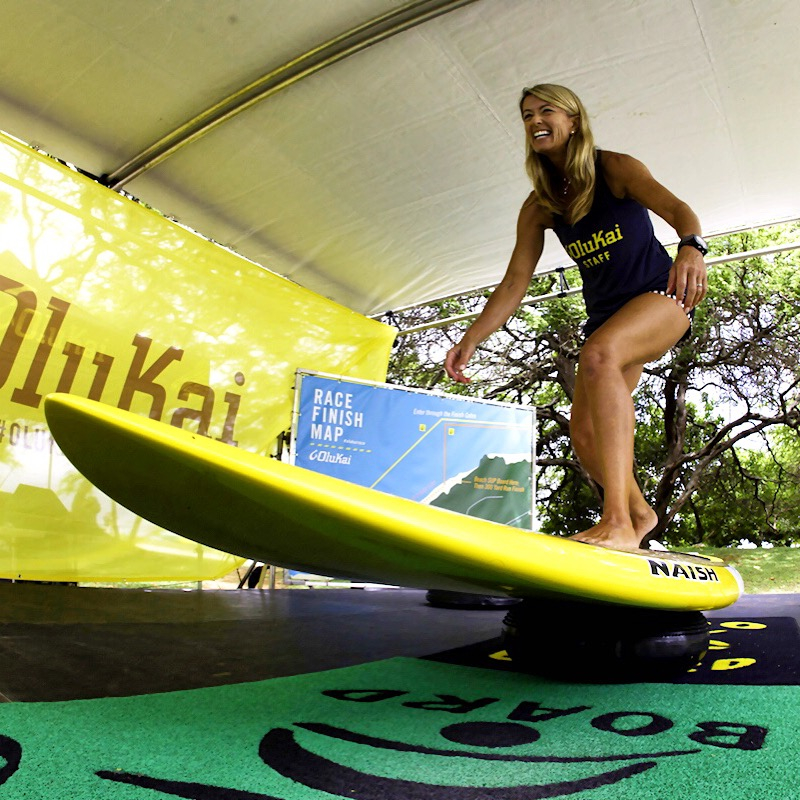 Suzie Cooney Stage Surfing