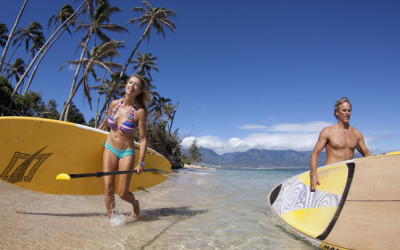 The Many Great Health Benefits of Stand Up Paddling