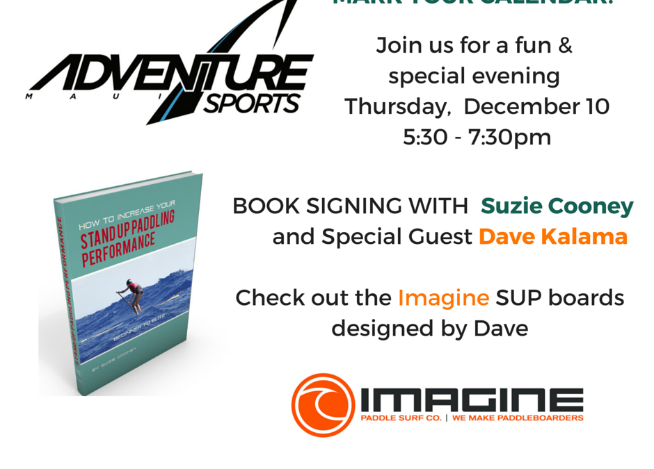 Book Signing on Maui with Suzie Cooney and Special Guest Dave Kalama