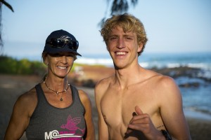 Suzie Cooney Connor Baxter Training Done Maui 2016