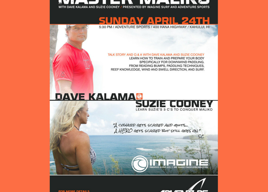 Master Maliko with Dave Kalama and Suzie Cooney