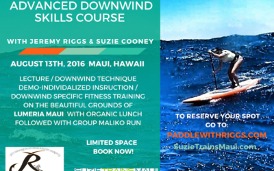 Advanced Maliko Downwind Skills Course with Suzie Cooney and Jeremy Riggs