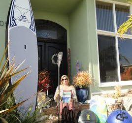 SUP Inspires California Mom Who Paddles For Her Total Well Being