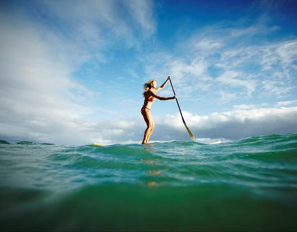 Suzie Cooney Stand Up Paddling