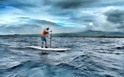Advanced Downwind SUP Course with Jeremy Riggs and Suzie Cooney