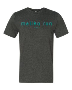 Maliko Run Maui Logo Men's T-shirt Dark Heather Grey