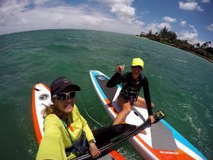 Maliko downwind guide Suzie Cooney