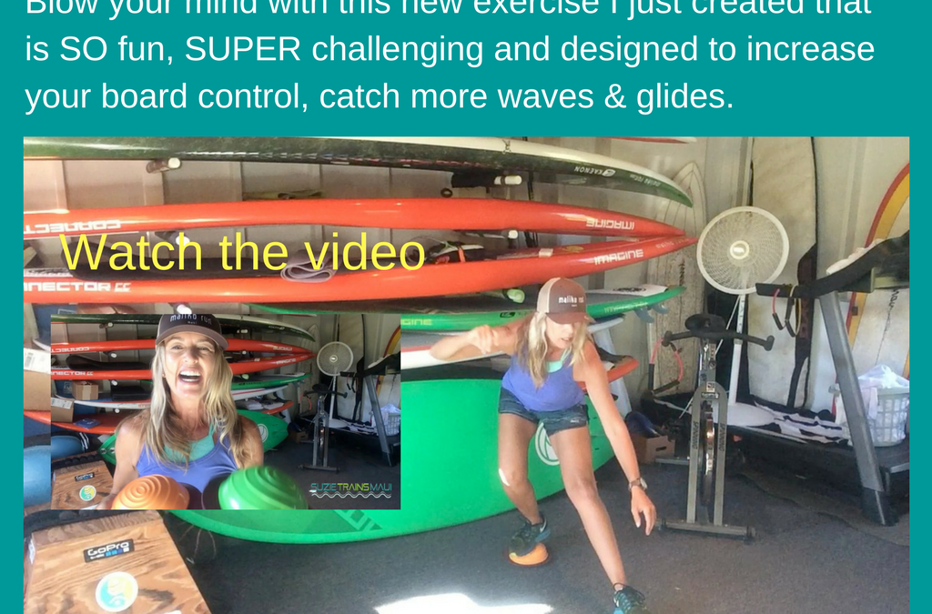 Balance and Leg Strength Exercise For Surfers and Stand Up Paddlers