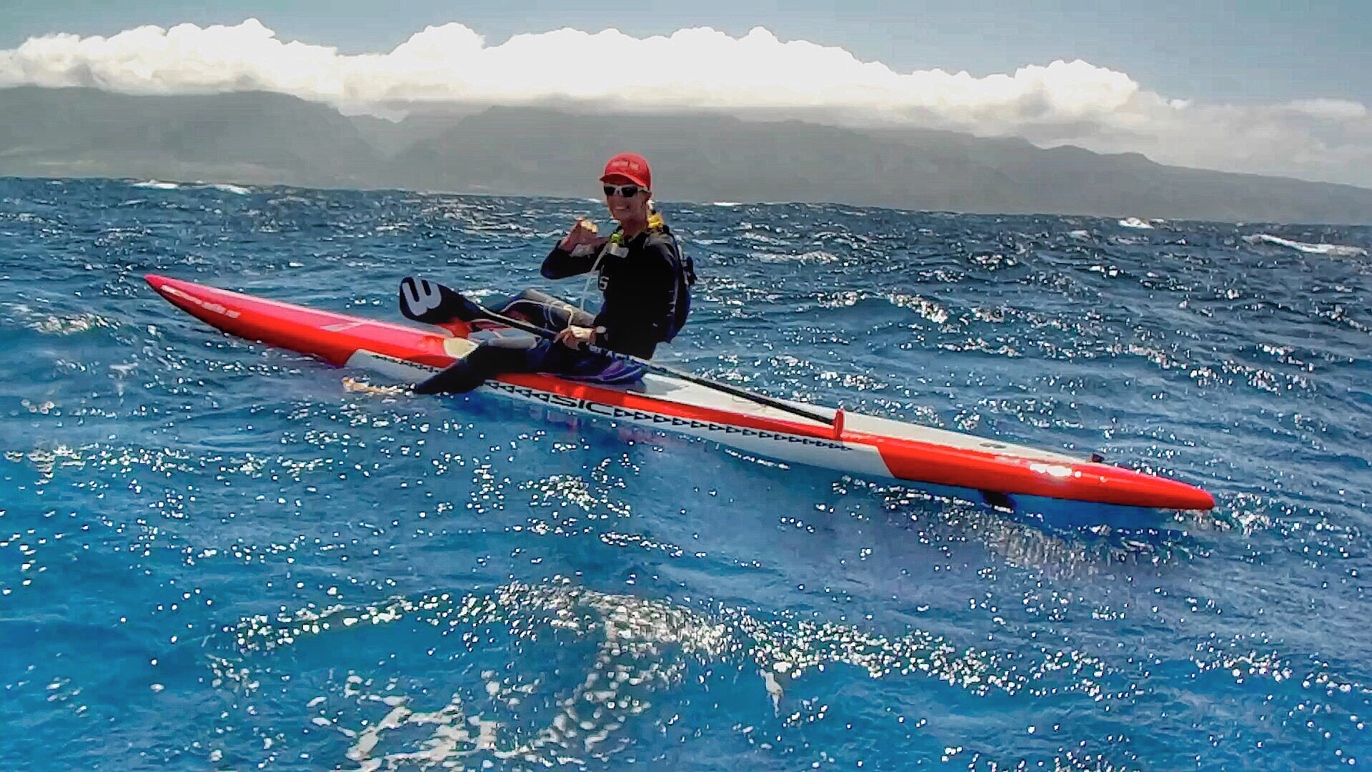 Suzie Cooney Maliko Run downwind coach photo by Erik Aeder