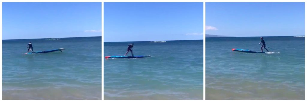 SUP Balance Reaction Training