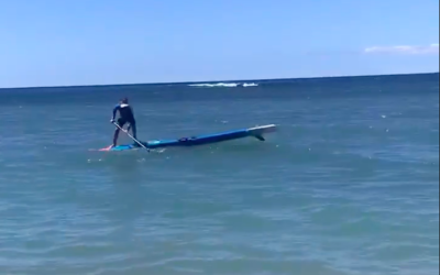 "Bobo Gallagher and ""Running the Deck"" SUP Balance Reaction Training"